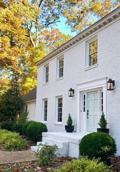 Painting Brick Houses - Painting Our Brick House White Young House Love Should I Paint My Brick House Pros Cons Of Painting Exterior Pros And Cons Painted Brick Exteriorsbeck. Image House, Whitewash Brick House, White Brick, Brick Exterior House, House Painting, Brick Ranch, Painted Brick House, Red Brick House, Painted Brick