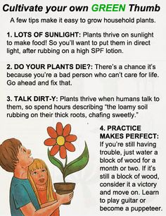 Cultivate Your Own Green Thumb