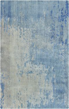 Aptly named, the Watercolor Collection of rugs have a distinct painterly effect in a plush pile. From Surya. (WAT-5002)
