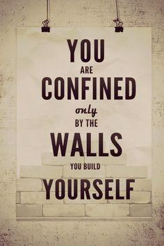 self-built limitations