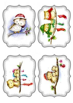 Free Christmas labels to print and use Free Christmas labels to print and use Free Christmas labels to print and use, Christmas Clipart, Christmas Gift Tags, Christmas Printables, Xmas Cards, Vintage Christmas, Christmas Bird, Christmas Ornaments, Christmas Scenes, Christmas Pictures