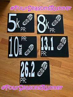 Running Distance oval decal 5k 8k 10k 15k 20k car window 26.2 13.1 marathon tri