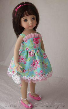 little darlings – Page 2 – Cindy Rice Designs Girl Doll Clothes, Doll Clothes Patterns, Doll Patterns, Girl Dolls, Baby Dolls, Doll Fancy Dress, Porcelain Dolls For Sale, American Girl Wellie Wishers, American Girl Dress
