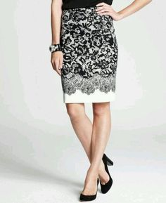 More conservative length....classy. Ann Taylor