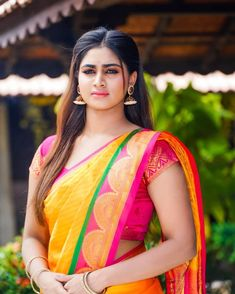 Shivani Narayanan actress beauty image gallery cute and hot and bollywood item Indian model unseen latest very beautiful and sexy wedding se. Beautiful Girl In India, Beautiful Girl Photo, Beautiful Saree, Beautiful Gorgeous, Beautiful Bollywood Actress, Most Beautiful Indian Actress, Beautiful Actresses, Cute Beauty, Beauty Full Girl