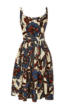 Mali Dress In Diamond Garden by Lena Hoschek - Moda Operandi