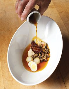 Foie Gras Eel Potaufeu Pears Dumplings | Recipes | Recipes | Food Arts