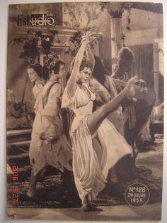 Brigitte Bardot BB Portugal Magazine 1958 Very Rare Nadine Tallier Jean Marais…