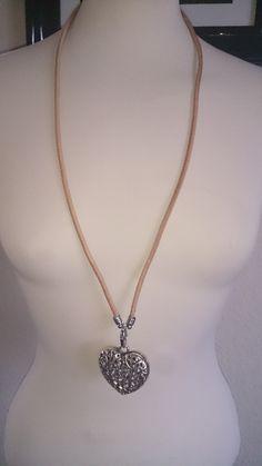 flot læder halskæde
