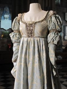 One of Danielle's gowns from the movie, EVER AFTER (1998).  This is indicative of the type of gown a noblewoman would have worn in the early 1500s