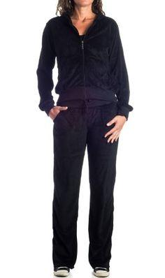Women's Plus-Size Velour Tracksuit Set : VKN by Gazoz Black 2X Gazoz,http://www.amazon.com/dp/B00FAQXVK0/ref=cm_sw_r_pi_dp_Qvqgtb15QM5027J5