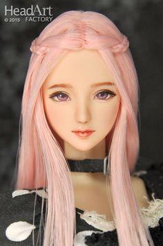 """Head Art Factory"" 1/6 HandPaint Custom Head ""AW467""for Obitsu/CY girl/Hot stuff #obitsu"