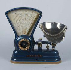 Dayton Model 166 Countertop Candy Store Fan Scale