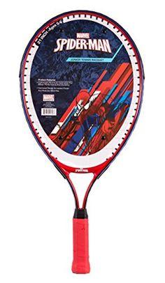 Marvel Junior Spider-Man Tennis Racquet - http://www.closeoutracquets.com/tennis-racquets/marvel-junior-spider-man-tennis-racquet/