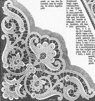 """Gallery.ru / ninmix - Альбом """"все для ришелье"""" Diy Embroidery Patterns, Cutwork Embroidery, Free Machine Embroidery Designs, White Embroidery, Lace Stencil, Lace Painting, Point Lace, Linens And Lace, Embroidery Techniques"""