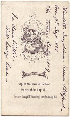 cabinet card vintage aged ephemera