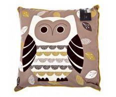 Pernuta decorativa Owl 41x41 cm