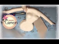 Creaciones Mamen Aula Virtual Gratis 3ªParte Fofucha con vestido de fiesta hecho con Foamy - YouTube
