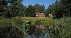 Grönadal. Sommerhaus in naturschöner Umgebung nahe dem See Mien in Urshult, Småland, Sverige