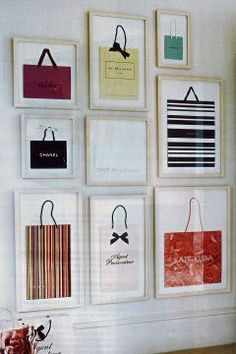 What to do with those favorite shopping bags