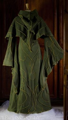 Alternative Clothing - Haunted Hawtin Coat Long Floor-length Gothic Goth Faery Faerie Fairy Fae Pixie Alienskin Technodolly - Alienskin Clothing: Hand made
