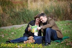 """Adoption Maternity pictures (quote of the photo shoot """"Someone's been spending too much time one Pinterest!"""")"""