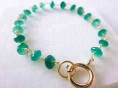 Emerald Green Onyx Bracelet, Gold Filled Bracelet, AAA Onyx Bracelet, Wire Wrap Bracelet, Green Gemstone Bracelet, Bridal Green Jewelry #StudioVK #Etsy #EmeraldWrap #AaaOnyxBracelet #EmeraldGreen #WireWrapBracelet #WeddingBracelet #GreenOnyxBracelet #EmeraldBracelet #GreenEmerald #OnyxGoldWrap #BridalGreenJewelry #GreenBracelet #GoldFilledBracelet #GemstoneBracelet