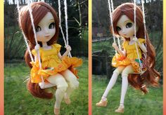 Breezy spring day, perfect for swinging in the yard! | April (pullip Xiao Fan) by J a c k y