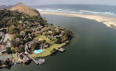 The Wild Coast in South Africa is popular with families, and top of the list is Umngazi River Bungalows, a luxury retreat that offers something for everyone. South Afrika, Honeymoon Places, My Land, Beautiful Beaches, Beautiful Homes, Places To Go, Coast, River, Bungalows