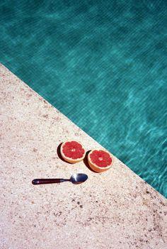 Blue Lagoon colour inspo. #woolandthegang #summermoodboard