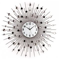 Nástenné dizajnové hodiny JVD HJ21 Diamant 74cm, nastenne hodiny, na stenu, dekoracie do bytu, dizajn