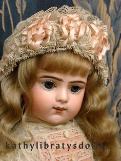 "Absolutely Head to Toe All Original 22"" Bru Jne R Antique French Bebe Doll C. 1890 Will STEAL Your Heart!"