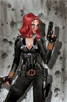 extraordinarycomics:Black Widow by Zurdom.