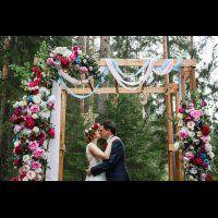 Выездная регистрация брака. Звездная свадьба