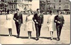Robert Koleji ve Arnavutköy Amerikan Kız Koleji FIELD DAY şenliğinde seçilen Kral ve Kraliçeler...1966 #istanlook