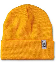 best service f93b2 53bd1 A warm and cozy beanie with a perfect fold over cuff. The gold fold over
