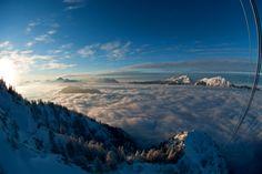 Winter am Predigtstuhl in Bad Reichenhall