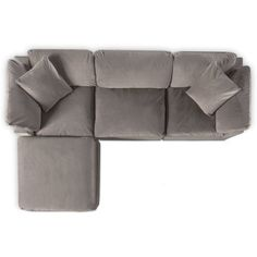 Plush 3 piece sectional and ottoman set value city furniture and mattresses mackenzie 2 piece sectional with accent pillows + free ottoman value city furniture and mattresses Cozy Furniture, Value City Furniture, Classic Furniture, Furniture Layout, Cheap Furniture, Luxury Furniture, Living Room Furniture, Antique Furniture, Rustic Furniture