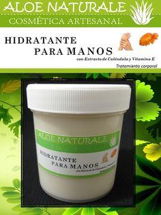 Crema Hidratante para manos con extracto de Caléndula y Vitamina E, actúa en la piel de nuestras manos de una manera emoliente e hidratante, dejándolas suaves y con un delicado aroma.