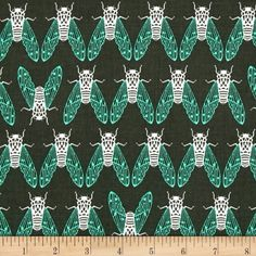 Looove this Cotton + Steel Raindrop Cicada Song Forest from Designed by Rashida Coleman-Hale for Cotton + Steel, this cotton print fabric is perfect for quilting, apparel and home decor accents. Colors include forest green, mint and white. Cool Diy Projects, Sewing Projects, Sewing Tutorials, Funky Design, Stuff And Thangs, Fabulous Fabrics, Home Decor Fabric, Fabric Online, Fabric Swatches