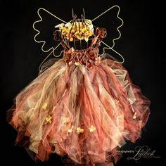 Flower Fairy braun und Gold kleine Gruppe von enchantedfairyco