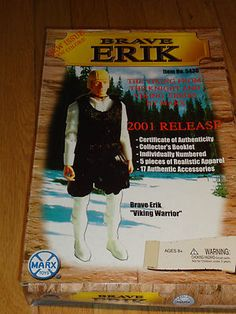 New in original box Brave Erik Viking Warrior #5430 from the knight and viking series 2001. For this and more visit me at www.dandeepop.com