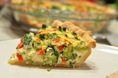 Breakfast in the morning? Christmas Quiche - love this heathy recipe year round