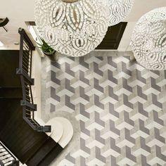 Create a effect with Karndean Designflooring Kaleidoscope floors Pennon to view at Cavendish KBB Benton showroon 0191 2660211 Karndean Flooring, Cork Flooring, Parquet Flooring, Hardwood Floors, Floor Finishes, Hard Floor, Wood Planks, Home Improvement, Art Deco