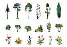 sketches and drawings Environment Concept Art, Environment Design, Plant Illustration, Digital Illustration, Doodle Drawing, Prop Design, Visual Development, Environmental Art, Yin Yang