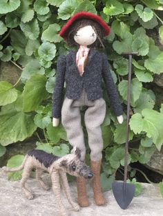 Sarah Strachan: My latest dolls  Vita Sackville West