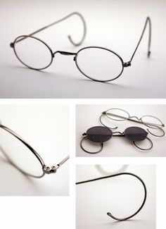 f2f503f84fc 19th Century Repro Frames  25 with lenses Four Eyes