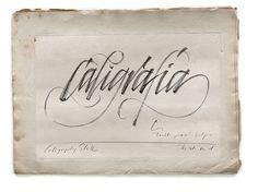 calligraphy styles on Behance