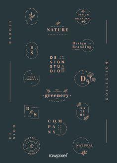 Lettering, Typography Logo, Logo Branding, Typography Design, Logo Desing, Logo Design Trends, Kreis Logo Design, Mises En Page Design Graphique, Design Bauhaus