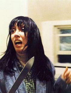 Shelley Duvall The Shining Stanley Kubrick, Jack Nicholson, Scary Movies, Great Movies, 80s Movies, Tv Movie, Roman, Here's Johnny, Movie Shots